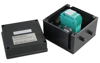 Kmb4 caja con barreras zener pasivas de seguridad para for Bat box obi